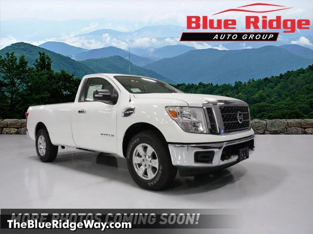 Certified Pre Owned 2017 Nissan Titan 4x4 Single Cab Sv Regular Cab
