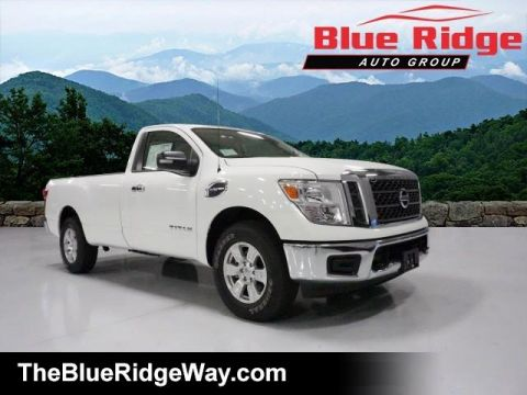 Certified Pre-Owned 2017 Nissan Titan 4x4 Single Cab SV